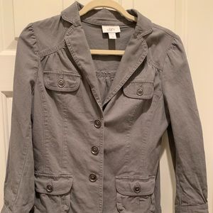 Ann Taylor Loft Gray Jacket